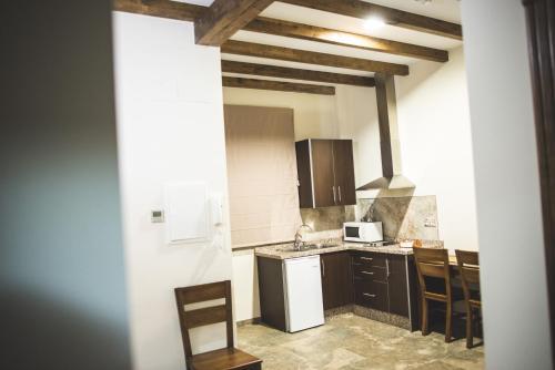 Una cocina o zona de cocina en Posada de Momo