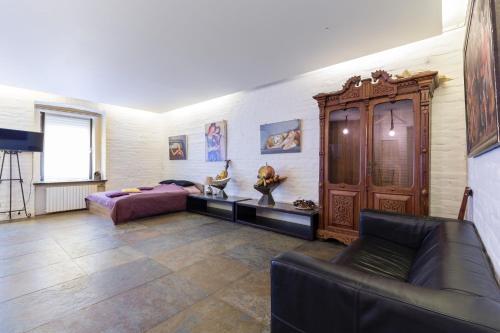 Гостиная зона в Julia Gallery Apartment
