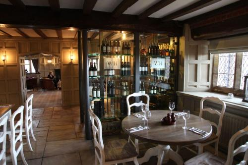 A restaurant or other place to eat at Weston Hall