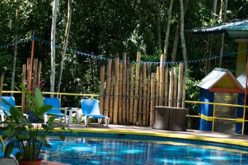The swimming pool at or near Byblos Resort & Casino