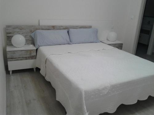 Cama o camas de una habitación en Apartamento Gran Via Logroño
