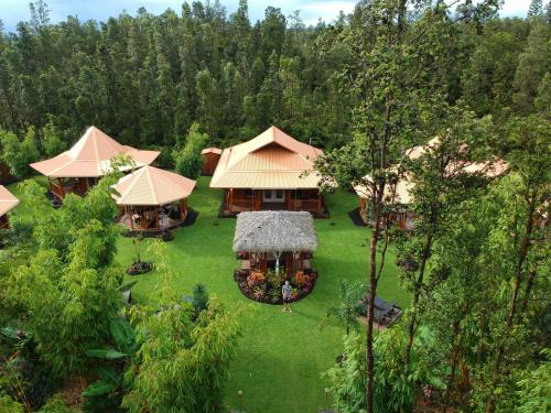 A bird's-eye view of Volcano Eco Retreat by Heart Core Hotels