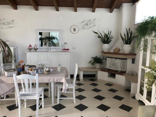 A restaurant or other place to eat at Villa Nicolaus