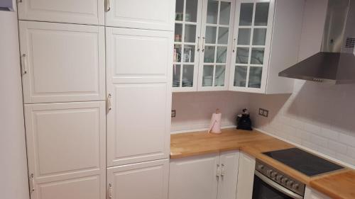 A kitchen or kitchenette at La Casina del Cerecedo