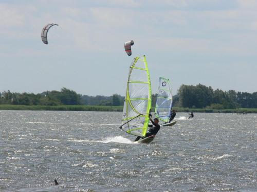 Windsurfing at the chalet or nearby