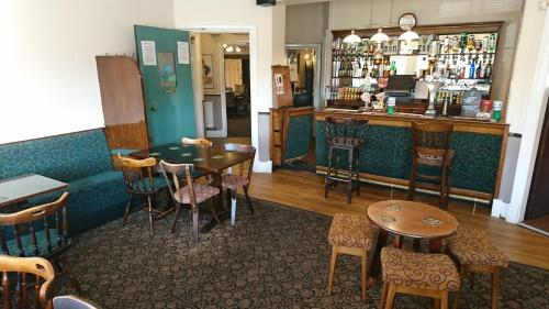 The lounge or bar area at Blue Boar Inn