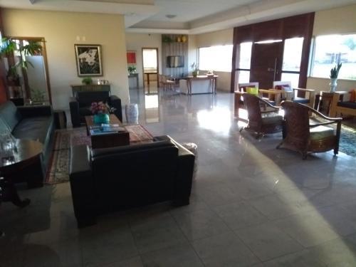 The lobby or reception area at Grand Hotel de Iporá