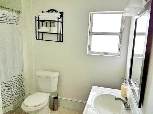 A bathroom at Casa Paradiso