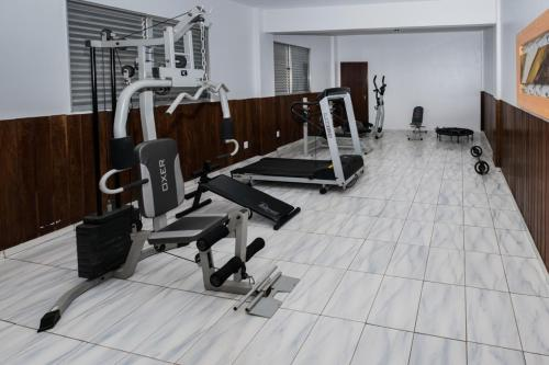 The fitness center and/or fitness facilities at Hotel Nacional