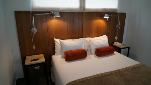 Cama o camas de una habitación en Natalino Hotel Patagonia