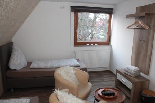 Ein Bett oder Betten in einem Zimmer der Unterkunft Chaplin
