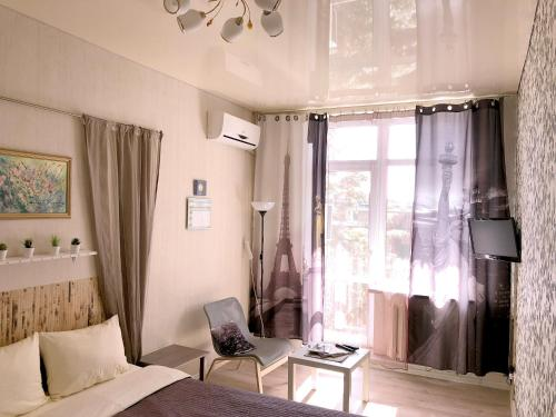 Гостиная зона в Lipki Kvartira