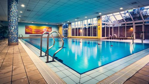 The swimming pool at or near Cavan Crystal Hotel