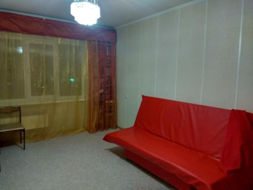 A seating area at Апартамент Юстис