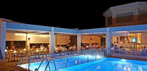 The swimming pool at or close to Kedrissos Hotel