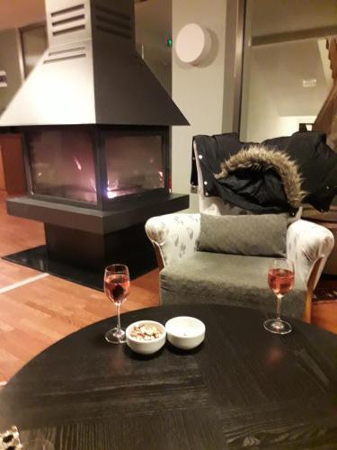 A seating area at Sagalassos Lodge & Spa Hotel