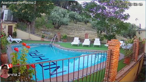 Vista de la piscina de Alojamiento Nohal o alrededores