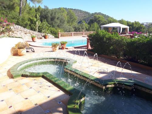 Vista de la piscina de Casa de las Vistas o alrededores