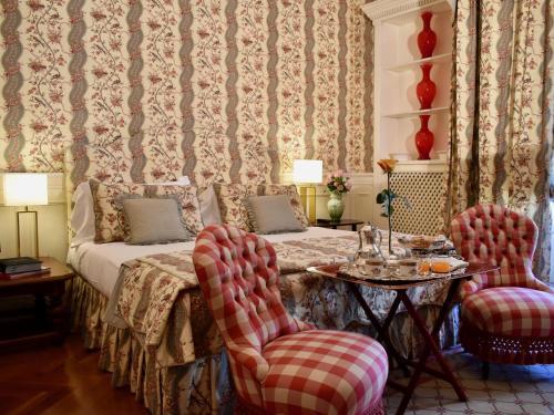 Area soggiorno di Palazzina Mori - Luxury B&B