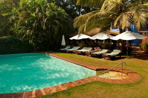 The swimming pool at or close to Presa di Goa - The Country House