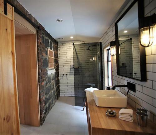 A bathroom at @ VDL Stanley