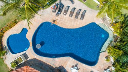 A view of the pool at Novo Sol Hotel - Rede Soberano or nearby
