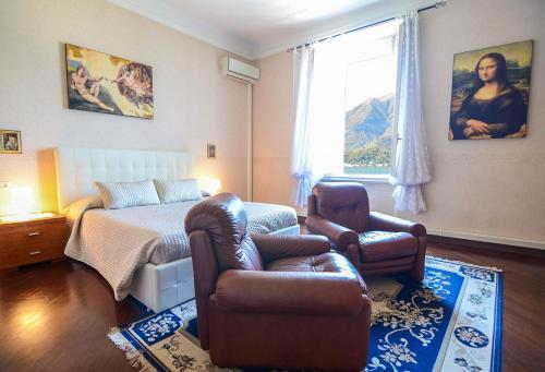 A seating area at Appartamenti Il Sogno