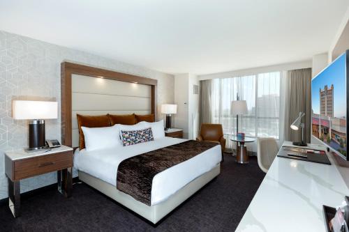 Säng eller sängar i ett rum på Palace Station Hotel & Casino