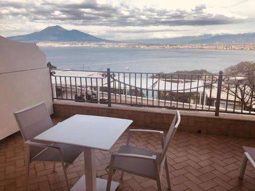 Балкон или терраса в Hotel Elisabetta