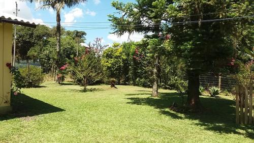 A garden outside Casa de Maquiné