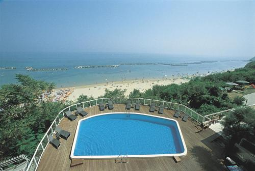 A view of the pool at Hotel Sans Souci or nearby