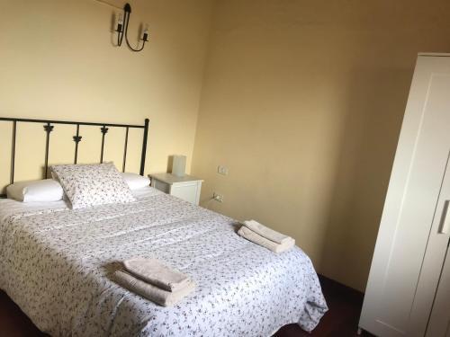 Кровать или кровати в номере Finca El Vergel Rural