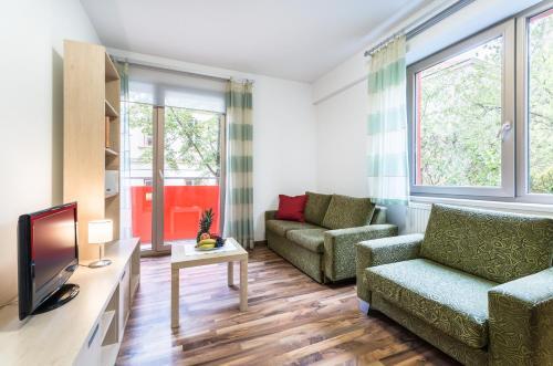 Гостиная зона в Penzion Palouček
