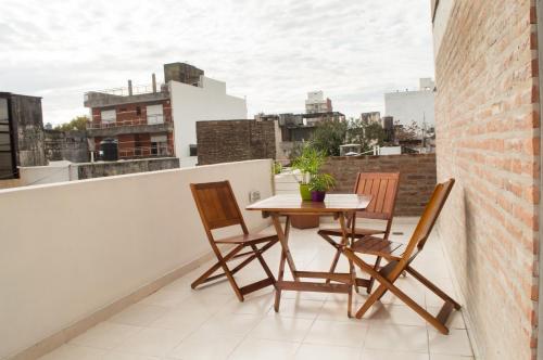 Un balcón o terraza en Torre Potosi Departamentos