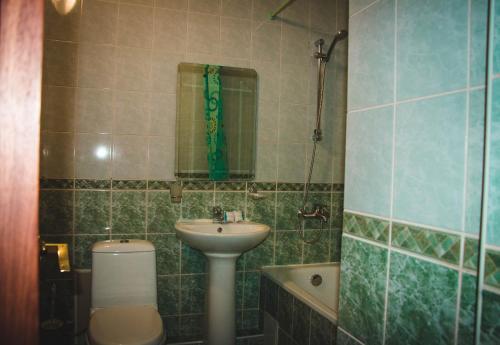 Ванная комната в Отель Белый Лотос