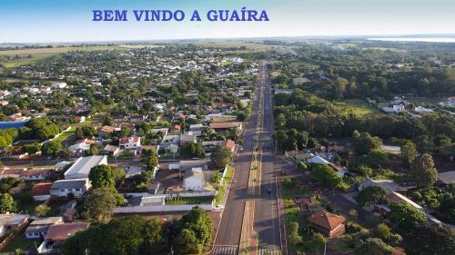 A bird's-eye view of Hotel Rio Paraná