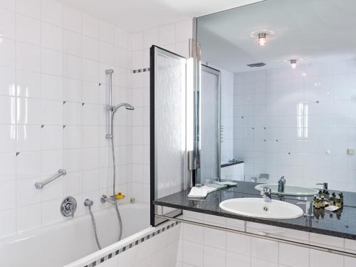 Ein Badezimmer in der Unterkunft Ringhotel VITALHOTEL ambiente