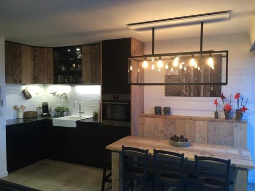 A kitchen or kitchenette at Meeuwenbank
