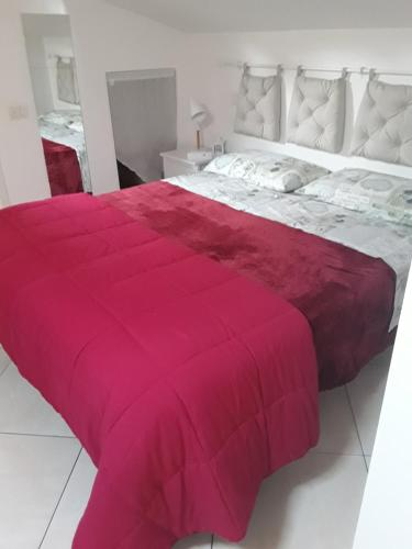 A bed or beds in a room at Il nido modena