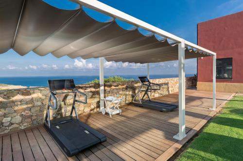 Het fitnesscentrum en/of fitnessfaciliteiten van Faro Capo Spartivento