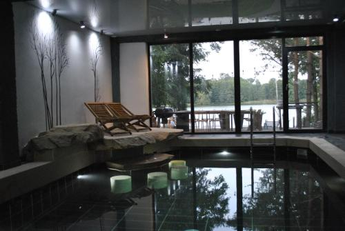 The swimming pool at or near Willa Borowa Przystań
