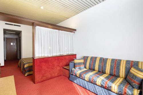 Area soggiorno di Hotel Plaza