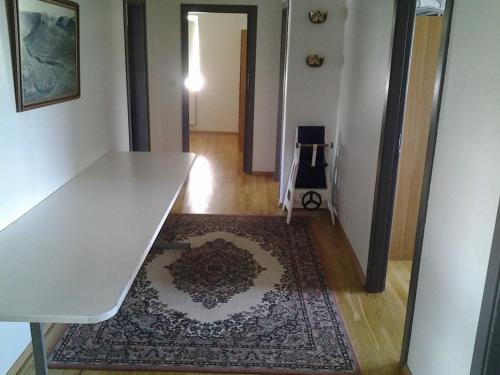 A bathroom at Skálá Guesthouse