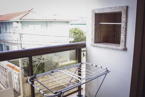 Un balcón o terraza de Lindo apartamento (Ingleses/Santinho)