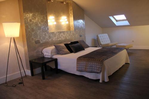 Cama o camas de una habitación en La Ermita