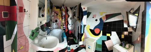 A bathroom at Hotel Galeria