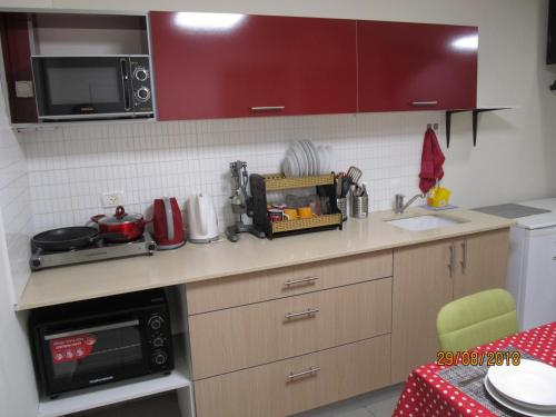 A kitchen or kitchenette at Levontine 14