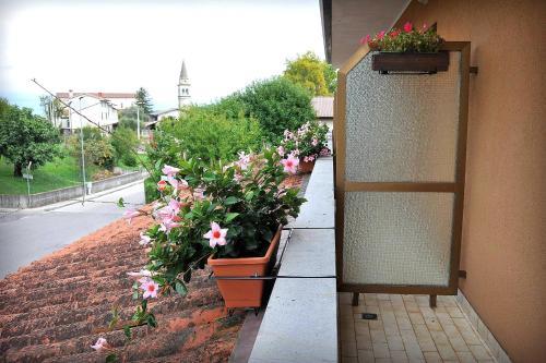 Balcone o terrazza di Locanda da Cidalie
