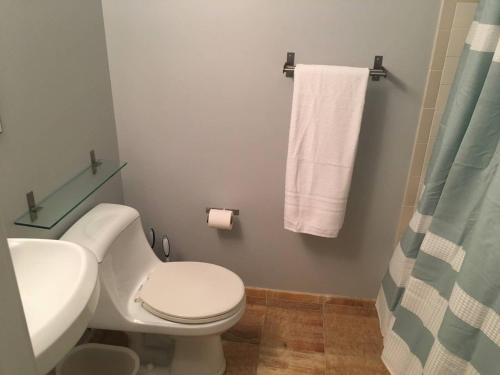 A bathroom at Charming 2BD in Hip Neighborhood - 3 Blks to Metro