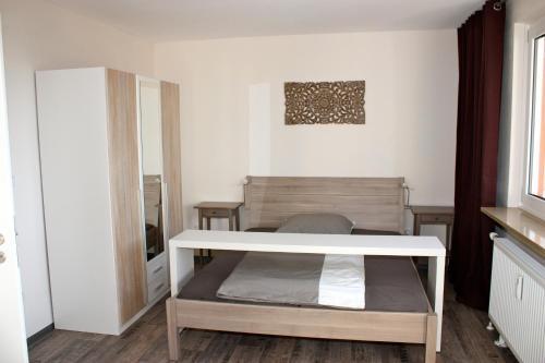 Ein Bett oder Betten in einem Zimmer der Unterkunft Apartment Fairview